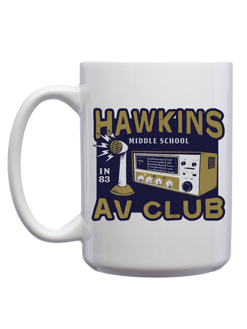 Hawkins AV Club Coffee Mugs (12 Pk.)