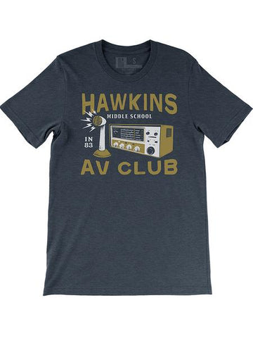 Hawkins A.V. Club (IN) -Multi Print-