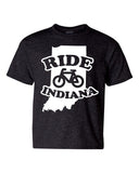 Kids -Ride Indiana- (IN) Youth Tee