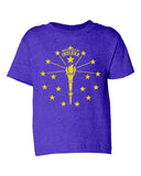 Kids -Torch and Stars- (IN) Toddler Tee