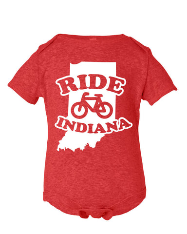 Kids -Ride Indiana- (IN) Onesie