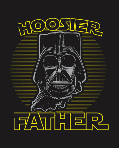 Hoosier Father (IN) -Grey Print-
