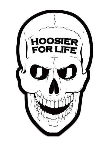 Hoosier For Life Stickers (24pk)