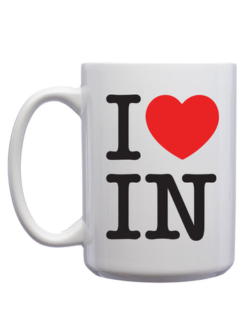 I Love Indiana Coffee Mugs (12 Pk.)