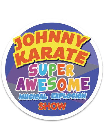 Johnny Karate Stickers (24pk)