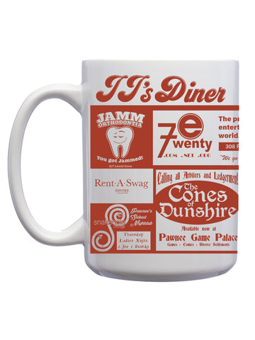 Pawnee Diner Coffee Mugs (12 Pk.)