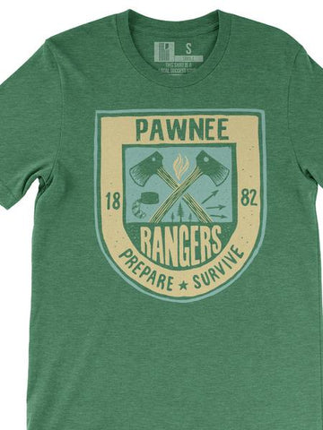 Pawnee Rangers (IN) -Multi Print-