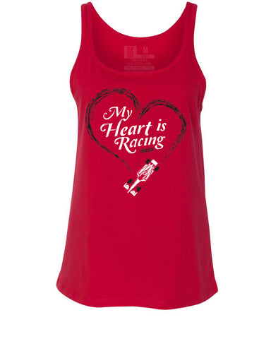 My Heart Is Racing (IN) Women's Relaxed Tank