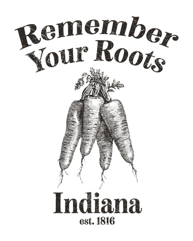 Remember Your Roots (IN) -Black Print-