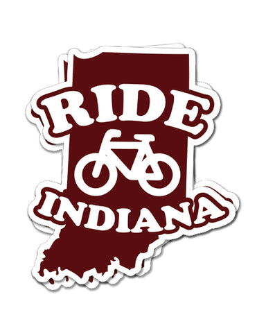 Ride Indiana Premium Stickers (24 Pk.)