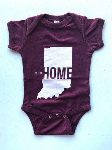 This is Home Onesie - United State of Indiana: Indiana-Made T-Shirts and Gifts