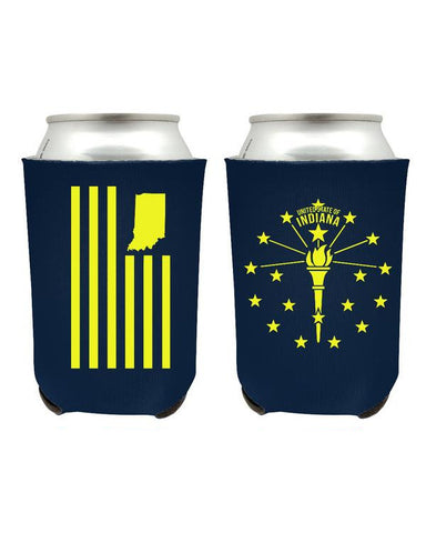 Torch and Stars Coozies