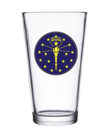 Torch and Stars Pint Glasses (12 Pk.)