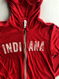 Vintage Indiana Lightweight Hoodie - United State of Indiana: Indiana-Made T-Shirts and Gifts