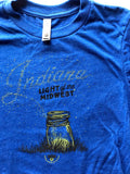 Light of the Midwest Youth Tee - United State of Indiana: Indiana-Made T-Shirts and Gifts