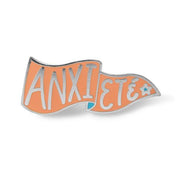 Anxieté Enamel Pin