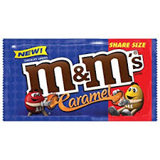 M&Ms Share Size Caramel