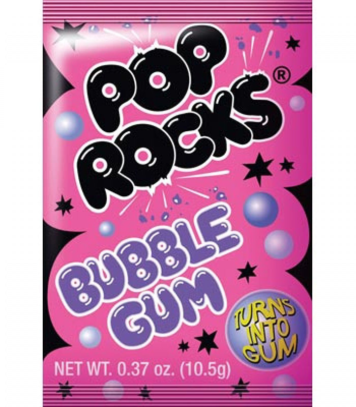 Pop Rocks Crackling Gum (9.5g)