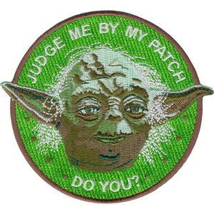 Judge me by my Patch