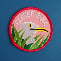 Clever Gull Patch