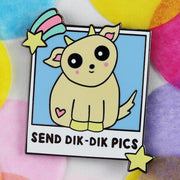 Send Dik Dik Pics Enamel Pin