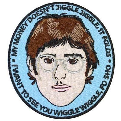 Louis Theroux Iron on Patch