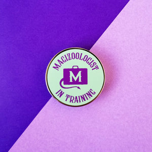 Magizoologist In Training Enamel Pin