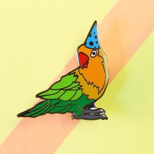 Party Parrot Pin