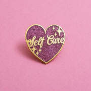 Self Care Enamel Pin