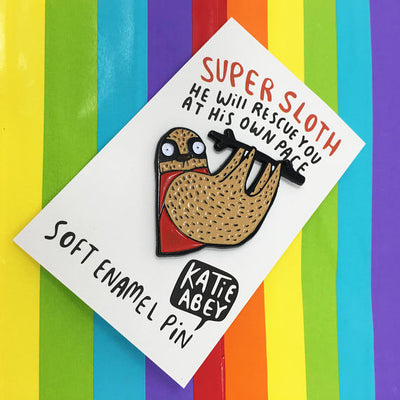 Katie Abey Pins - Super Sloth