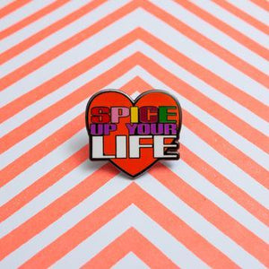 Spice Up Your Life Enamel Pin