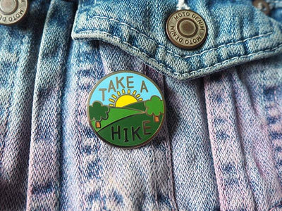 Take a Hike Pin