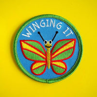 Winging it Patch