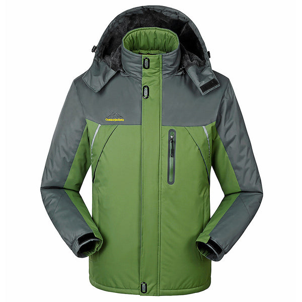 Warm winter sports jacket, a choice of 5 colors waterproof, windproof