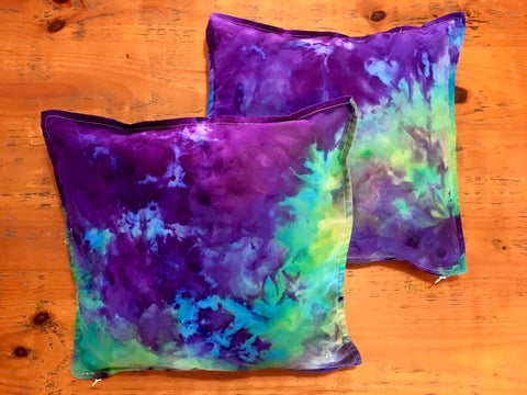 Cushions | Purple, Blue & Green