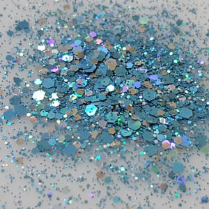Steel Blue Cosmetic Glitter