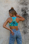 Summer Vibes | Tie-dye Sports Crop