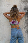 Popsicle | Tie-dye Sports Crop