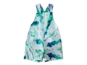 Deep Sea | Kids Tie-dye Overalls