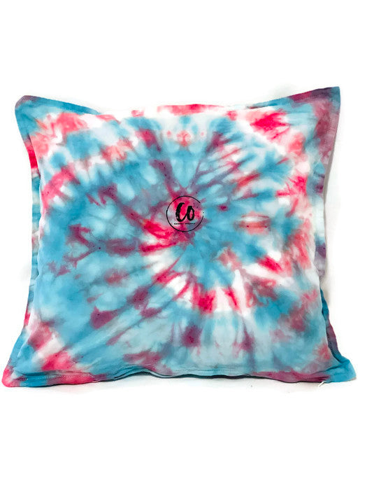 Electric Vibes | Tie-Dye Cushion Cover