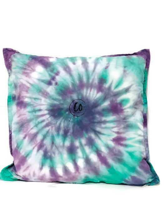 Grape Soda | Tie-Dye Cushion Cover