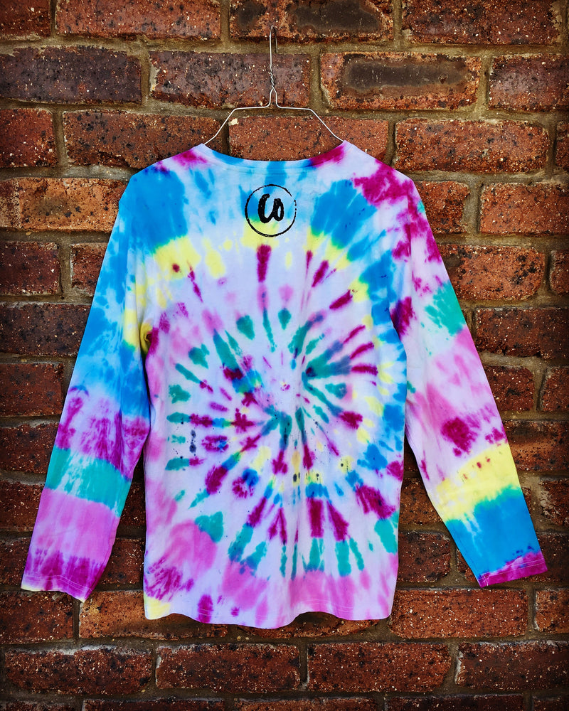 Kaleidoscope | Tie-dye Long Sleeve Shirt