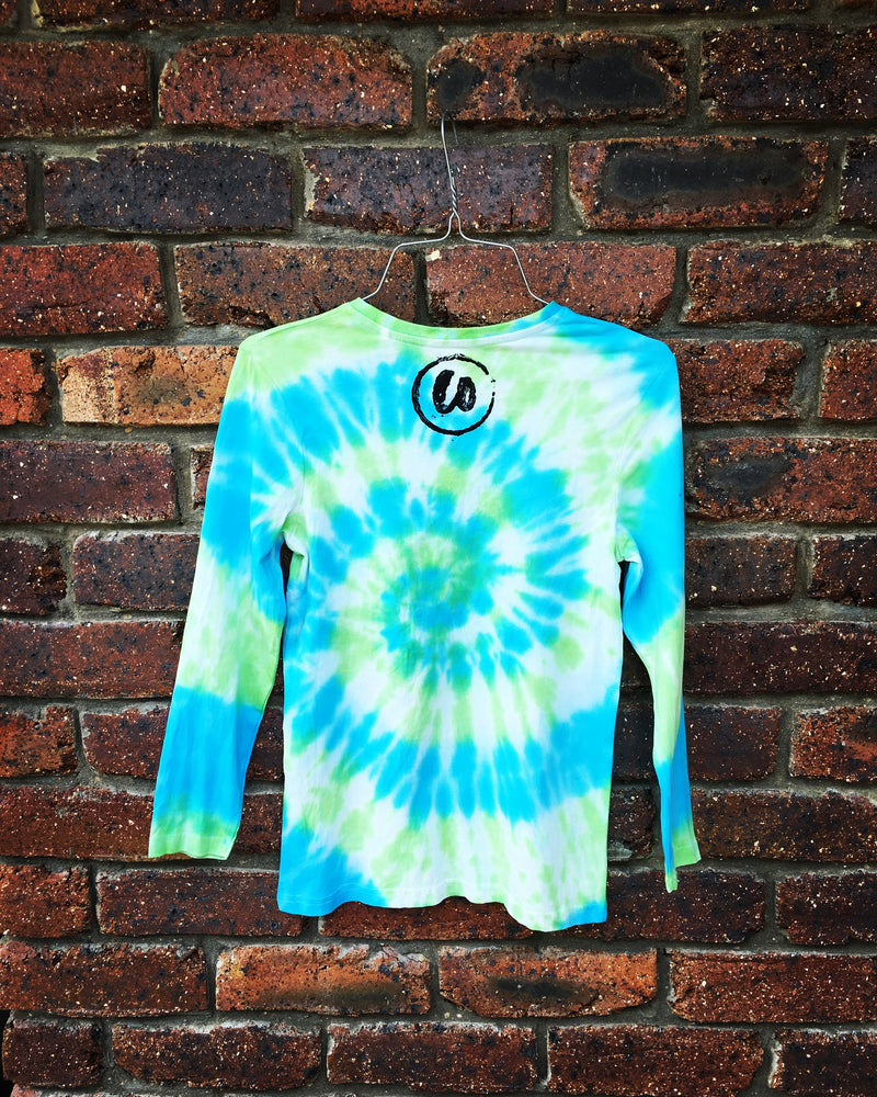 Summer Vibes | Tie-dye Long Sleeve Shirt