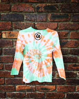 Summertime Madness | Tie-dye Long Sleeve Shirt