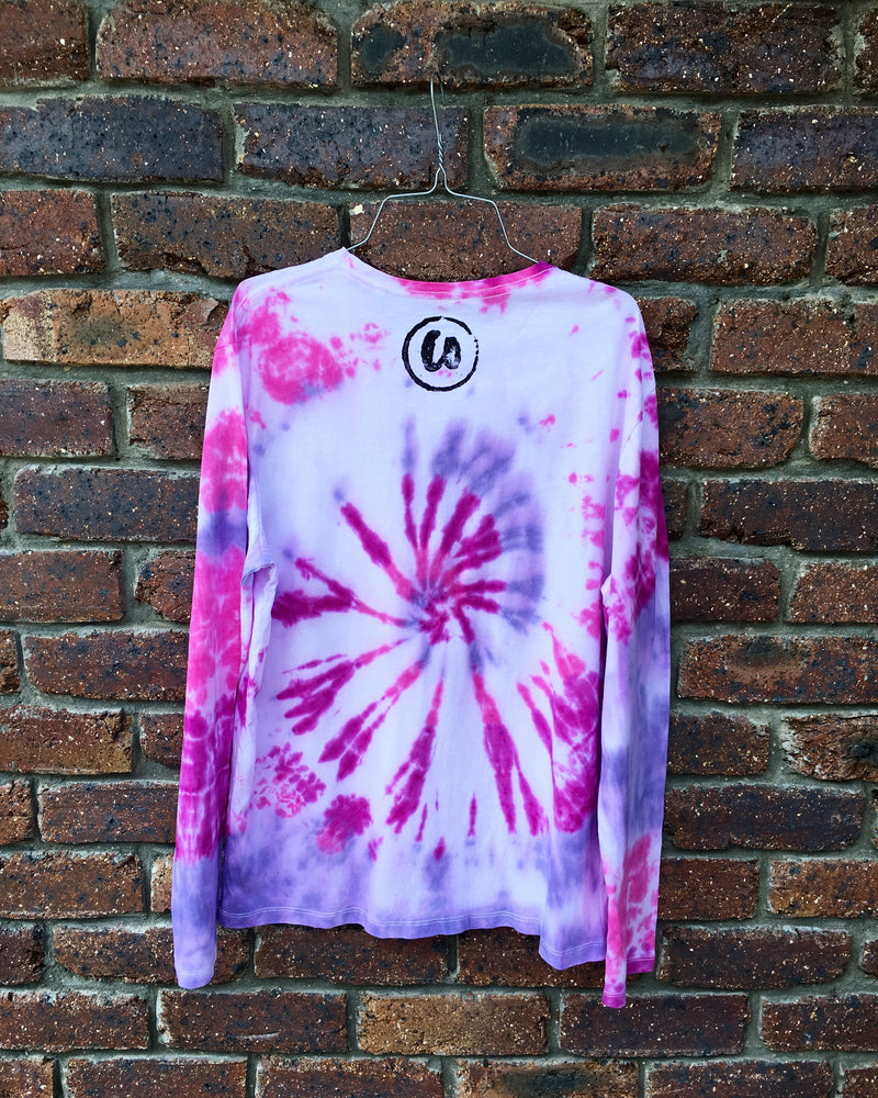 Purple Haze | Tie-dye Long Sleeve Shirt