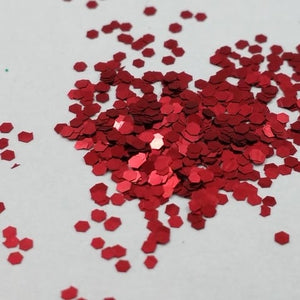 Apple Red Cosmetic Glitter