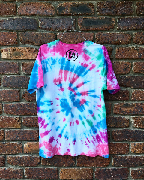Classic Tee | Pink, Purple, Blue & Green