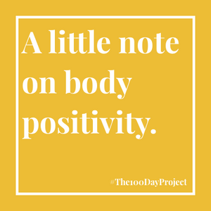 A little note on body positivity