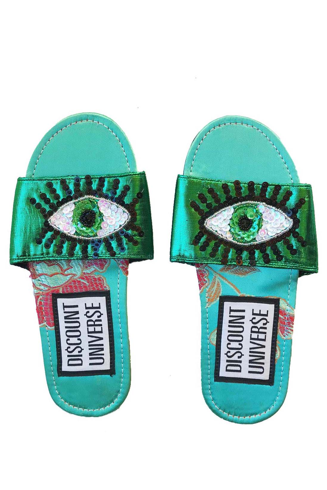 Green and Turquoise Slides