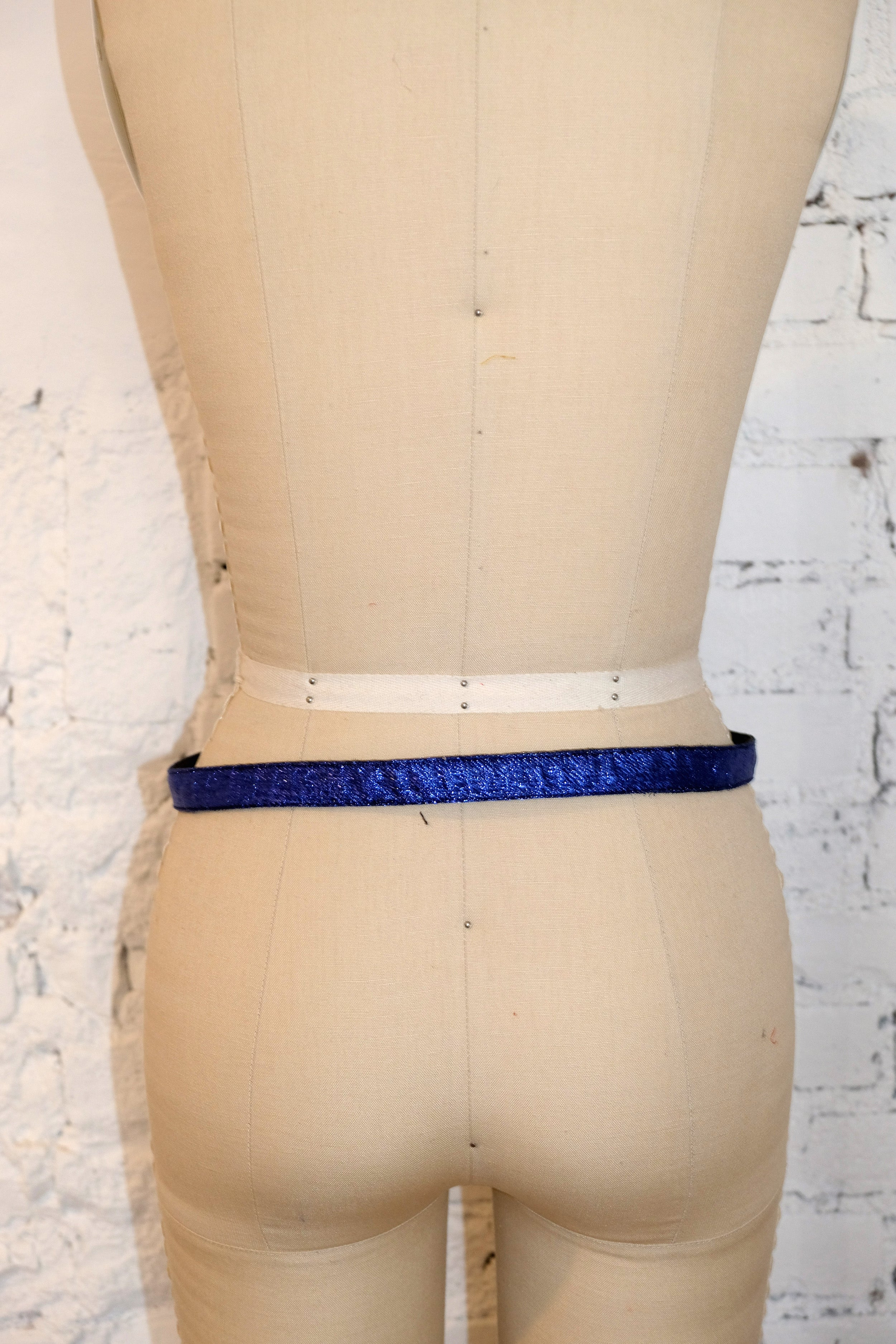Thin Two-Tone Belt